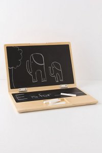 Chalkboard Laptop, Anthropologie, $40.