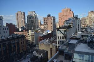 Image: Lower Manhattan, Lori Rochino.